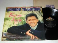 JOHNNY TILLOTSON That's My Style MGM Mono VG++/NM-
