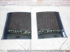 Pair Original 1983 Chevy Camaro T-Top Mirrored Glass Windows with Case