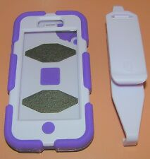 Griffin Survivor for iPhone 5/5s Military Rugged Case, w clip, Purple