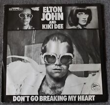 Elton John & Kiki Dee, don't go breaking my heart / snow queen , SP - 45 tours
