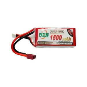 11.1V 1500mAh LiPo 3S Battery Pack with Deans Connector