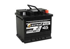 WAYMAN PLUS Autobatterie 12V 45AH 400A W45P geladen und wartungsfrei