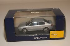 WW 1:43 SCHUCO OPEL VECTRA METALLIC GREY DEALER MIB