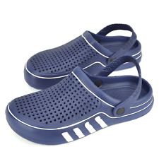 Men Boys Garden Shoes Clogs Antislip Sandals Teenage Kids Summer Shower Slippers
