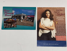 Autographed Jamie-Lynn Sigler Cards Lot of 2 Signed The Sopranos Hbo