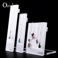 Acrylic Jewellery Display Stand for Luxurious Shop  Presenting Necklace Pendant