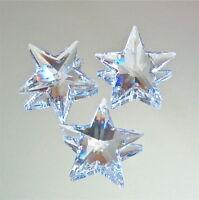 Swarovski Crystal Moon & Star Ornament Prismm Suncatchers , 30mm & 28mm,