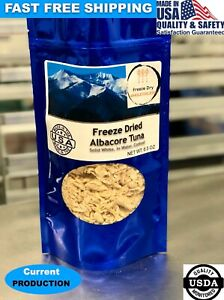 BULK Freeze Dried Solid White Albacore Tuna Fish Camping Hiking Survival Food-US