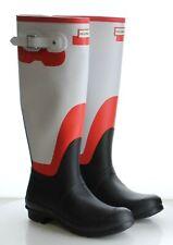 37-48 MSRP $160 Women's Size 8 Hunter Refined Gray Matte Rubber Rain Boots