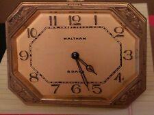 RARE 1927 Waltham 8 Day Watch/Desk.Art Deco Gorgeous and Uber RARE