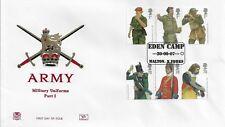 GB 2007 ARMY UNIFORMS STUART OFFICIAL FDC