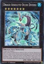 YU-GI-OH! PEVO-IT033 Drago Assoluto Occhi Diversi Super Rara Ita 1°Ed Yugioh NEW