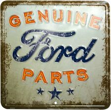 Ford Genuine Parts square metal sign 300mm x 300mm (sf)