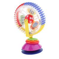 Plastic Rotating Ferris Wheel W/ Suction Base Baby Infant Toy Birthday Gift