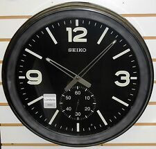 "SEIKO LARGE 20"" LUMIBRITE WALL CLOCK WITH BOTTOM SWEEP SECOND HAND QXA627KLH"