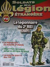 FASCICULE 60 LEGION ETRANGERE LEGIONNAIRE DU 2e REI (2001)