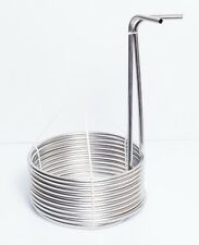 "25' Stainless Steel Home Brewing Beer Immersion Wort Chiller Coil 3/8"" OD"