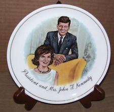 "President And Mrs, John F. Kennedy 7 1/2"" Collectors Plate"