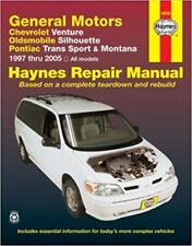 Haynes CHEVROLET VENTURE (97-05) WARNER BROTHERS Owners Service Manual Handbook