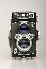 Yashica Mat-124 Fully Restored, Rollei Bright Screen, Film Tested