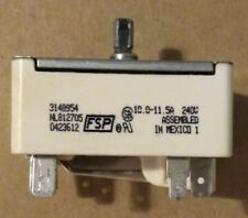 3148954 Whirlpool and others ELECTRIC Range LARGE Burner Infinite Switch Tested
