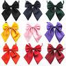 Frauen Dame Mädchen Schmetterling Bowtie Seide Bow Krawatten Formale Fliege he