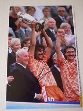 Signed Ruud Gullit Holland Euro'88 12x8 Photo