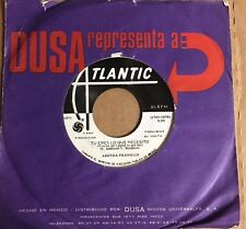 "ARETHA FRANKLIN YOU'RE ALL I NEED TO GET BY / PULLIN MEXICAN 7"" SINGLE WLP SOUL"