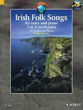 Irish Folk Songs 20 Traditional Pieces Vocal Collection Book & CD NEW 049044700