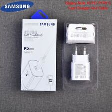 Original Samsung Galaxy Note 10+ 25W Charger Adapter USB Type-C PD Cable S20 5G