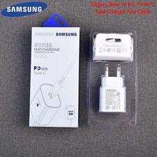 Original Samsung Galaxy Note 10+ 25W Cargador Adaptador Cable USB tipo C PD S20 5G