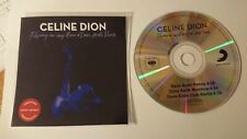 """CELINE DION """"FLYING ON MY OWN"""" REMIXES NEW BRAZILIAN CD PROMO"""