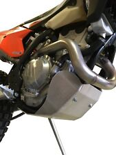 Aluminum Skid Plate for a KTM 250 EXC-F 2017-2018 and 350 EXC-F 2017-2018