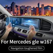 Car GPS Navigation Screen Steel Protective Film For Mercedes Benz GLE W167 2020
