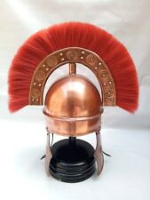 KING ARTHUR ROMAN HELMET WITH RED PLUME SCA / larp