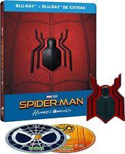 Spider-Man: Homecoming steelbook - ed. metalica