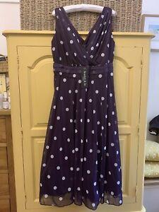 Scarlett & Jo Purple Dress - Size 16