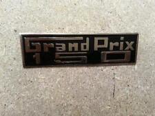 ukscooters LAMBRETTA GRAND PRIX 150 LEGHIELD BADGE CHROME BRASS NEW GP 150 .