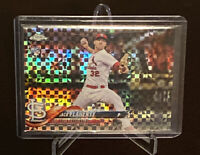 2018 Topps Chrome Jack Flaherty Rookie Xfractor #4 St. Louis Cardinals RC SP