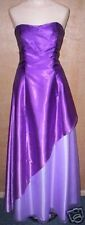WOMEN's NADINE STRAPLESS PURPLE PROM FORMAL EVENING COCKTAIL DRESS GOWN size 5