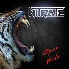 Nitrate - Open Wide (CD Jewel Case)