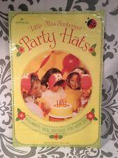 New VTG Vintage Birthday Hallmark  Little Miss Sunbonnet Hats Ultra Rare #383