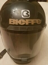 Bieffe Full Face Motorcycle GR-1400 Helmet in Black Med Classic  Size Italy