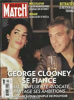 Paris Match Magazine George Clooney Ukraine Sandrine Bonnaire Crazy Horse 2014