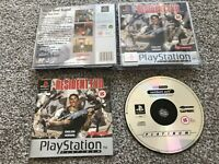 RESIDENT EVIL SONY PLAYSTATION 1 PS1 PS2 PS3 GAME WITH MANUAL OFFICIAL UK PAL