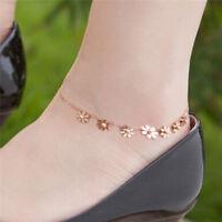 Fashion Ankle Bracelet Women Anklet Adjustable Chain Foot Beach Jewelry Gift JA