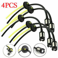 More details for petrol strimmer fuel hose pipe with tank filter assembly & grommet 4pcs