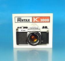 Asahi Pentax K1000 Niederländische Anleitung instructieboekje - (25850)