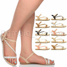 Strappy Synthetic Casual Slim Shoes for Women