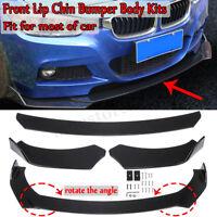 Front Bumper Lip Body Kit Spoiler For BMW E90 E92 E93 3 Series 320i 325i 328i M3